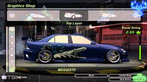 lexus is300h tuning need for speed underground 2 lexus is300 tuning by united4games