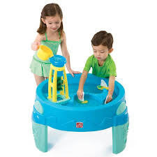 step 2 rain showers splash pond water table sand water play sandboxes water table step2 uk official