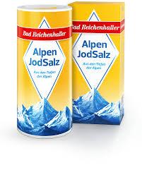 Aldi Bad Reichenhall Alpenjodsalz Fluorid Folsäure Bad Reichenhaller