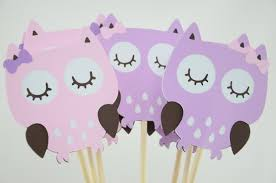 purple owl baby shower decorations owl party centerpieces owl theme owl birthday owl baby