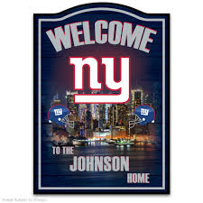 New York Giants Home Decor How To Gear Up For The Nfl Season