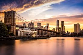 brooklyn bridge walkway wallpapers brooklyn bridge at dusk wallpaper wall mural wallsauce usa