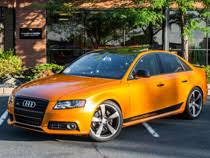 audi orange color paint wraps solid color vinyl wraps creative color