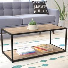 eq3 trivia coffee table sonoma oak coffee table wayfair ca