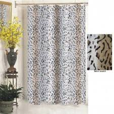Leopard Curtains Animal Print Shower Curtain Foter