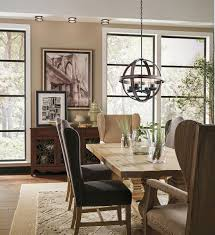 kichler kitchen lighting barrington 4 light orb pendant avi