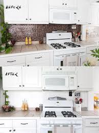 paint kitchen backsplash how to paint a tile backsplash brigham