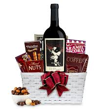 wine and gift baskets buy the prisoner wine gift basket online wine gift