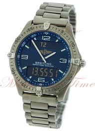 breitling titanium bracelet images Breitling aerospace repetition minutes blue dial with digital jpg