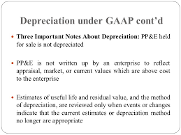 gaap useful life table definition depreciation is a measure of the wearing out consumption