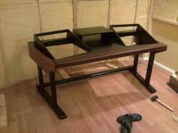 Diy Recording Desk Studio Recording Desk 18 Best Studio Desk Plans Images On