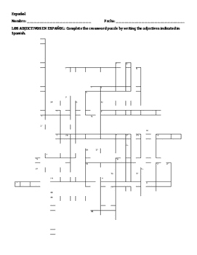 Floor Plans In Spanish Como Son Description Of People In Spanish Activity Packet By