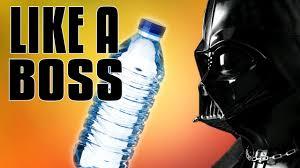 Water Challenge Motion Darth Vader Bottle Flip Challenge Stop Motion