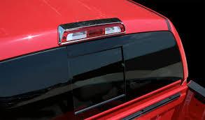 silverado third brake light cover putco chrome third brake light cover