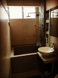 Bathroom Feature Wall Ideas Hdb Bathroom Concrete Bathtub Mosaic Featurewall Singapore