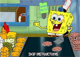 jeu bob l éponge en cuisine préparer des sandwichs
