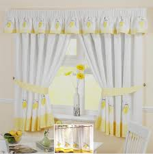 Ikea Kitchen Curtains Inspiration Pleasant Idea Modern Yellow Kitchen Curtains Valuable 3 Ikea On