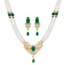 necklace set buy azure pearl necklace set jpearls