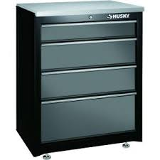 Home Depot Base Cabinet Husky 27 In 4 Drawer Base Cabinet 27bc401bp Thd At The Home Depot
