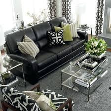 Leather Sofa Designs Black Sofas Living Room Design Leather Decor Furniture