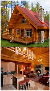 log cabin home designs alpine log cabins pinteres