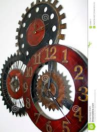 unique wall clock stock image image 12930171