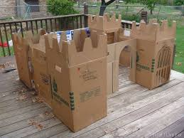 Simple Plans For Toy Box by The 25 Best Cardboard Castle Ideas On Pinterest Cardboard Box