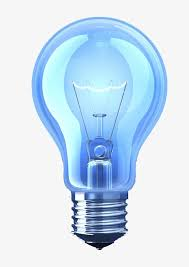 blue free light bulbs blue light bulb light not light bulb blue png image and clipart