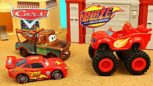 monster trucks kids video venom and lightning mcqueen video for kids youtube video disney