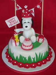 snoopy cakes snoopy cake dolce ladybug