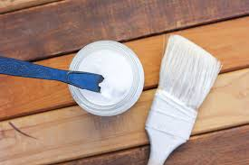 how to distress wood with paint coconut oil