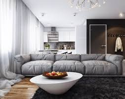relaxed minimal apartment in russia
