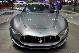 maserati alfieri white maserati alfieri concept previews new halo model
