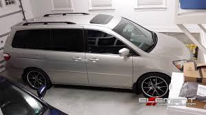 honda odyssey wheels 20 inch lexani r12 gloss black machined on 2004 honda odyssey w