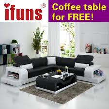 cheap sofa ifuns cheap sofa sets home furniture wholesale white leather l shape