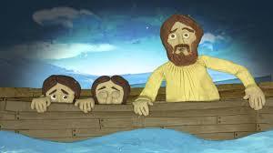 jesus calms the storm youtube