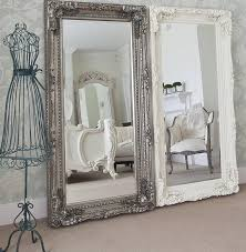 Large Wall Mirrors For Living Room Home Decor Original Grand Cream Full Length Dressing Mirror
