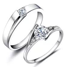 metal rings jewelry images Couple rings jewellry 925 silver adjustable lovers ring jewelry webp