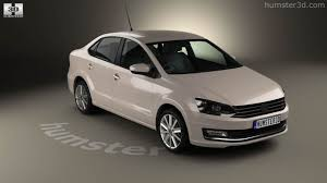 volkswagen vento black 360 view of volkswagen vento 2016 3d model hum3d store