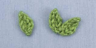 amigurumi leaf pattern blog planetjune by june gilbank posy blossoms