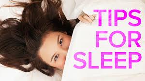 10 tips to help you sleep youtube