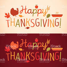 happy thanksgiving message stock vector 486988056 istock