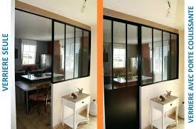 cuisine avec verriere interieur verriere interieure bois verriere interieure en bois 11 solutions