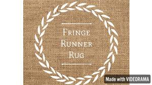 Diy Runner Rug Diy Dollar Tree Fringe Runner Rug