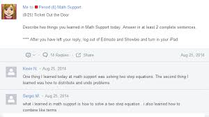 edmodo problems rockstar math teacher ipads and self paced lessons in math