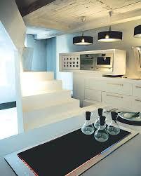 Futuristic UltraBright White Small Space Apartment Design With - Design small spaces apartment