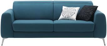 canapé lit contemporain en cuir en tissu boconcept