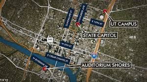 Ut Austin Campus Map by How Inauguration Day Protests Will Impact Austin Traffic Kxan Com