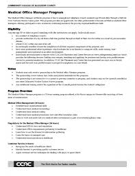 Resume For Medical Office Receptionist Medical Customer Service Resume Resume Template And Professional
