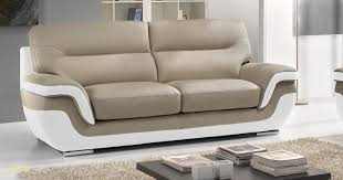 canapé cuir bicolore canapé fauteuil cuir frais canape cuir italien avec rodrigue design